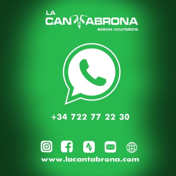 Estrenamos canal de whatsApp oficialde la Marcha Cicloturista La Cantabrona